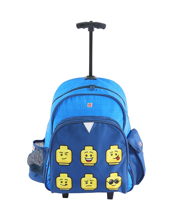 LEGO Faces Blue Trolley batoh