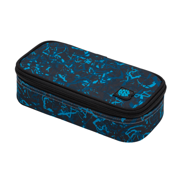 Studentský penál BAGMASTER CASE BAG 20 B BLUE/BLACK