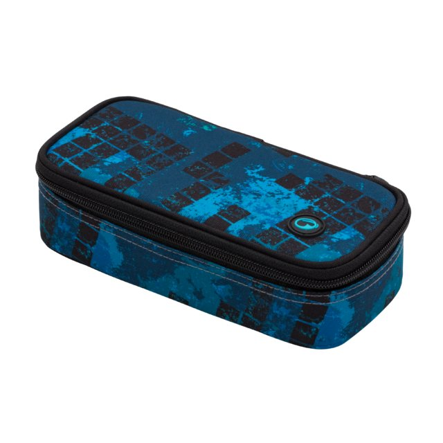 Studentský penál BAGMASTER CASE BOSTON 20 B BLUE/BLACK/GREEN
