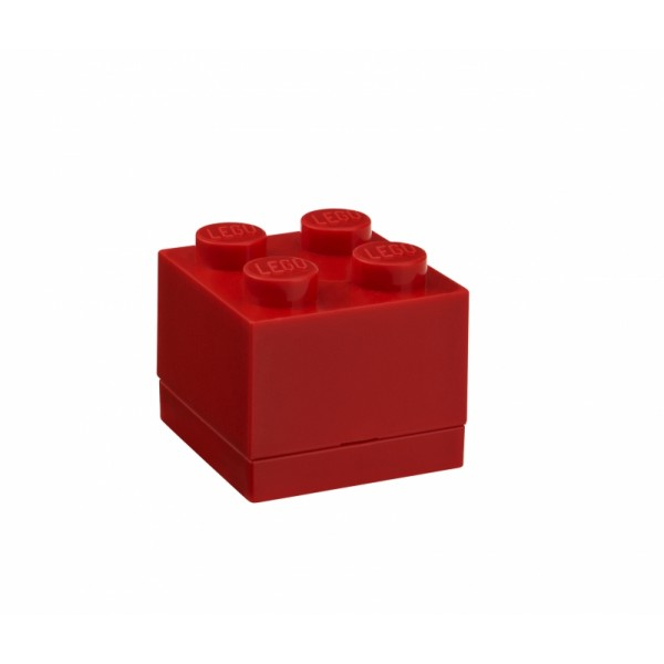 LEGO mini box 4 46 x 46 x 43 mm - červená
