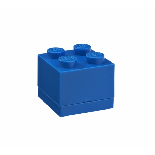 LEGO mini box 4 46 x 46 x 43 mm - modrá