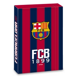 Ars Una Box na sešity FC Barcelona A4 stripes