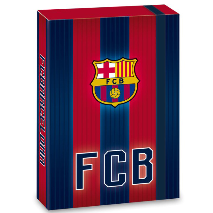 Ars Una Box na sešity FC Barcelona 18 stripes A5